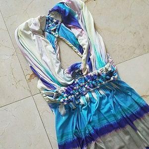 SKY maxi dress empire waist small
